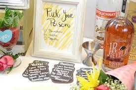cocktail recipe cards diy craft cocktail station flower glass charms u2013 craft box girls