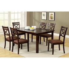 Dining Room Tables Set Iohomes Dallas 7pcs Dining Table Set Wood Espresso Target