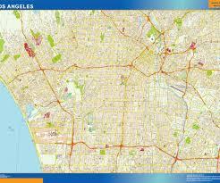 vector maps los angeles vector map eps illustrator vector city maps usa
