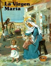 imagenes de virgen maria infantiles apostolado eucarístico vidas de santos para niños la santísima