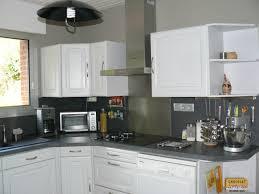cuisine peinte en gris repeindre cuisine en gris gallery of cuisine peinte on decoration
