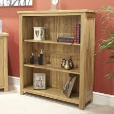 Narrow Bookcase Oak by Browns Furniture Congleton Opus