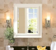 white bathroom mirror cabinet sonoma wall mounted medicine cabinet pottery barn