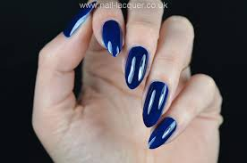 Inky Blue Models Own Inky Blue Gel Effect Polish Free Shipping At Nail