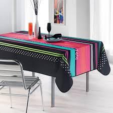 nappe de cuisine rectangulaire nappe rectangulaire cuisine d été noir anti tâche nappe de table