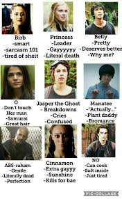 Sheit Meme - tag yourself meme the 100 amino