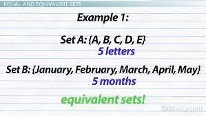 equivalent sets definition u0026 example video u0026 lesson transcript