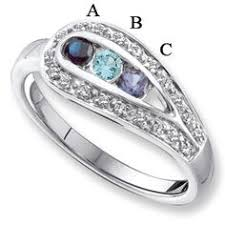 family rings for sterling silver shimmer s ring sterling silver ring and