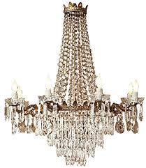 Thomasville Chandeliers Early 1900 U0027s Antique Bronze And Crystal Chandelier Lighting