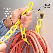 weekend garage organization coat hooks extension cords and weekend garage organization