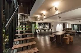 Villa Stairs Design Interior Decorating Tips With Fusion Furnishing Model Designoursign