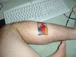 country flags patriotic german canadian tattoo image galleries
