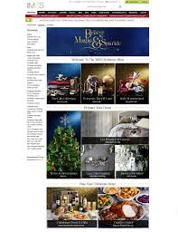 Marks And Spencer Christmas Food Gifts Christmas Marketing Campaigns 2013 Big Brand Landing Page Designs