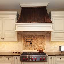 copper range hood kitchen mediterranean with copper range hood kitchen traditional with none