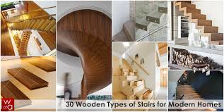 world of architecture 30 wooden types of stairs for modern homes
