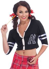 schoolgirl halloween costume teacher halloween costume letter sweater ebay