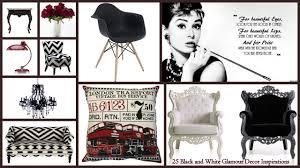 25 black and white decor inspirations glamour loversiq