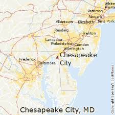 maryland map by city best places to live in chesapeake city maryland