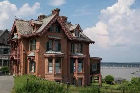 calvert vaux u0027s warren house on montgomery st the co architect of
