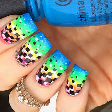 top 40 superb rainbow nails