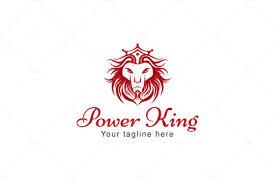lion king template logovenue power king wild animal lion stock logo template vecras