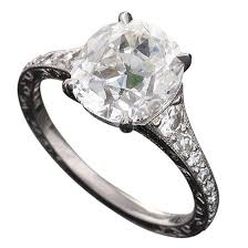 Diamond Cushion Cut Ring 3 02 Carat Gia Cert Cushion Cut Diamond Platinum Engagement Ring