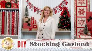 diy stocking advent garland u0026 christmas place settings with