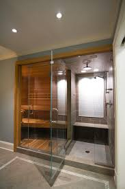 Steam Shower Bathroom Designs Bathroom Light Blue Bathroom Ideas With Wood Trim And White