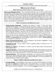 Notice Of Intent To Foreclose Letter by Florida Subcontractor Mechanic Lien Forms And Kits