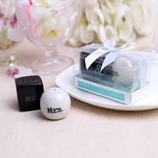 salt and pepper wedding favors wedding favor gift and giveaways for guest mr mrs ceramic