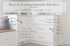 ikea kitchen corner cabinet a comprehensive list of the sizes of our kitchen s ikea