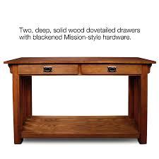 mission style sofa table oak centerfieldbar com