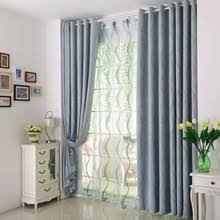 blue gingham jacquard gingham poly cotton blend modern bedroom