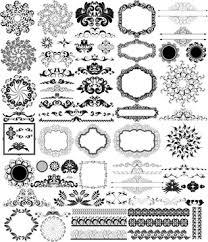 arabic ornament eps border free vector 180 734 free vector
