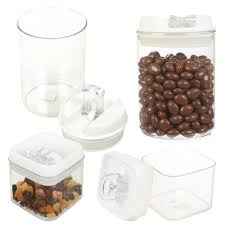 wilko airtight seal clamp lid kitchen storage container food jar