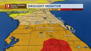 Orlando Traffic Map by Florida Drought Little Rainfall Seen In Sunshine State Wftv