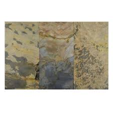 ms international montauk black 12 in x 24 in gauged slate floor
