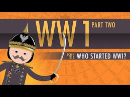 who started world war i crash course world history 210