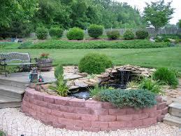 decor tips outdoor design with backyard water fountains and garden