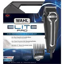 wahl elite pro complete high performance hair clippers haircut kit