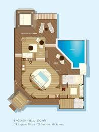 Hilton Hawaiian Village Lagoon Tower Floor Plan Maldives Overwater Bungalows Niyama Water Studio With Pool