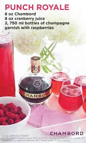 christmas cocktails cd how to make punch royale recipe cranberry juice chambord and