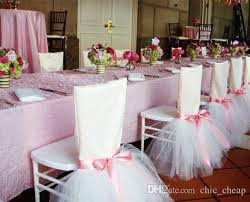 tutu chair covers 2018 stain tulle tutu beautiful chair cover classic chair sash