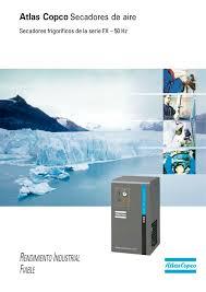 atlas copco secadores de aire secadores frigoríficos de la serie