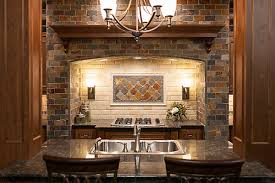 Rusty Brown Slate Mosaic Backsplash by Copper Rust Slate Mosaic Tile 4 In The Tile Shop