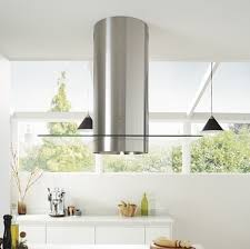 kitchen island extractor lamona stainless steel cylinder island extractor fan howdens joinery