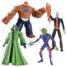 fantastic four animated figures series 1 biz fantastic