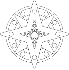 mandala star coloring sun moon and stars mandala coloring pages