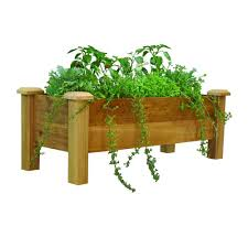 Large Planters For Trees by Wood Planters Pots U0026 Planters The Home Depot