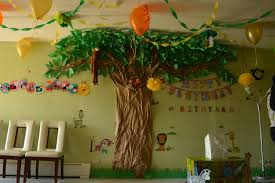 jungle theme decorations jungle theme birthday decoration ideas awesome